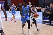 Michele Vitali, Kelvin Martin<br /> Vanoli Cremona - Germani Leonessa Basket Brescia<br /> LegaBasket Serie A 2017/2018<br /> Cremona, 28/04/2018<br /> Foto M.Ceretti / Ciamillo-Castoria