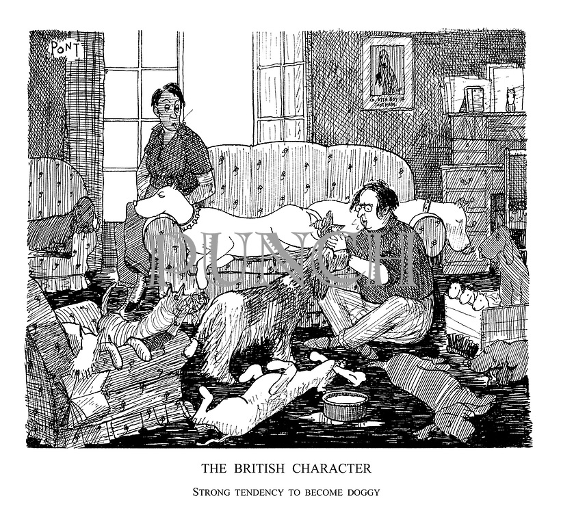 The British Character. Strong Tendency to Become Doggy.