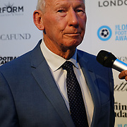 Bob Wilson Arrives at London Football Awards 2018 at Battersea Evolution on 1st March 2018,  London, UK.