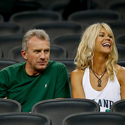 Aug 29, 2013; New Orleans, LA, USA; Former NFL player Joe Montana and his wife Jennifer Montana in attendance to watch his son Tulane Green Wave quarterback Nick Montana (not pictured) against the Jackson State Tigers at the Mercedes-Benz Superdome. Tulane defeated Jackson State 34-7. Mandatory Credit: Derick E. Hingle-USA TODAY Sports
