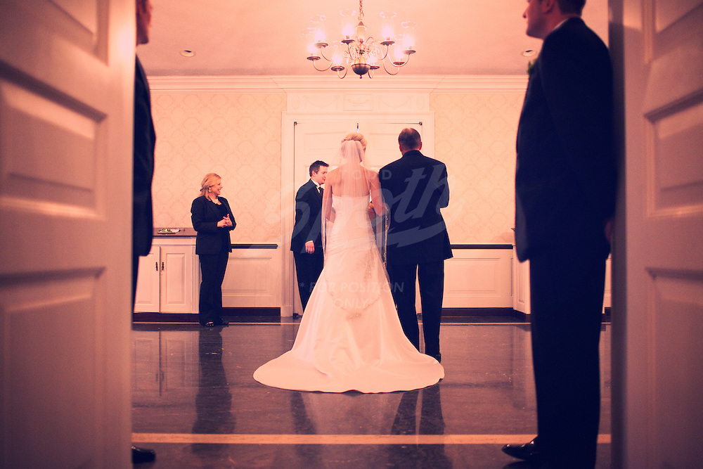 during the wedding ceremony of Jessica Szczygiel and Chad Ireton, Saturday, June 12, 2010 at Second Baptist Church in Houston, Texas. (PHOTO / TODD SPOTH)