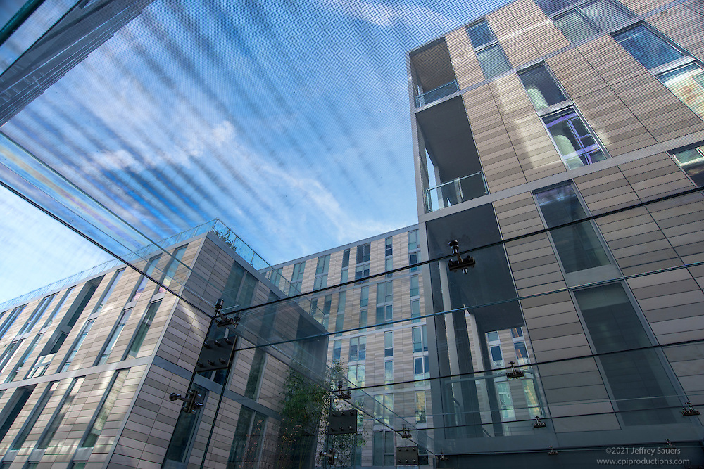 Architectural image of the Apartments at City Center in Washington DC by Jeffrey Sauers of Commercial Photographics, Architectural Photo Artistry in Washington DC, Virginia to Florida and PA to New England