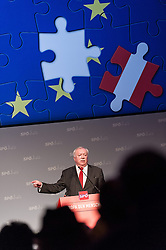 17.03.2014, Hofburg, Wien, AUT, SPOe, EU Wahlkampfauftakt der Wiener SPOe unter dem Motto Fuer ein soziales und demokratisches Europa. im Bild Buergermeister Wien Michael Haeupl // Mayor of Vienna Michael Haeupl during SPOe election campaign opening for EU Election at Hofburg in Vienna, Austria on 2014/03/17. EXPA Pictures © 2014, PhotoCredit: EXPA/ Michael Gruber