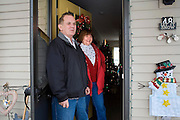 Garret County Community Action Non-Profit...Bill and Sally Hartzel stand at the front door of their home at the Pysell Ridge Housing development. (Construction Cost: $4.4 mill - 30 Units) The Hartzel's moved into the development at the end of July 2006...Housing Development - Garrett county Community Action is the developer and owner of over 400 units of rental housing. GCCAC also builds single family homes that are sold to persons graduating from its First Time Home Buyers Program. To make building sites affordable and accessible to low and moderate income homebuyers, GCCAC has also developed single family subdivisions for the purpose of selling lots to home buyers.