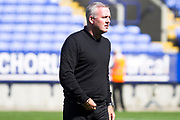 Ipswich Town manager Paul Lambert before the EFL Sky Bet League 1 match between Bolton Wanderers and Ipswich Town at the University of  Bolton Stadium, Bolton, England on 24 August 2019.
