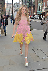 Tallia Storm attends the Barrus Show at Fashion Scout during London Fashion Week Autumn/Winter 2016/17 at Freemasons' Hall in London, UK. 19/02/2016<br />