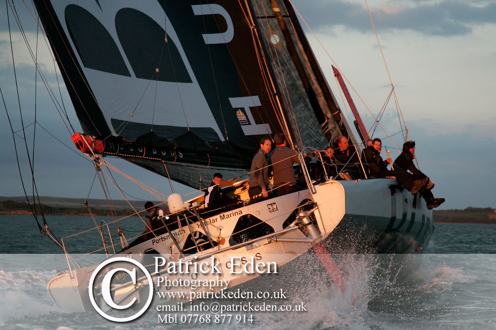 HUGO BOSS, 2013, UK, Isle of Wight, Cowes, Round the Island Race, J P Morgan, Cowes, Isle of Wight, UK, Sports Photography