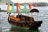 Sampan in Aberdeen fishing village, Hong Kong, Hong Kong