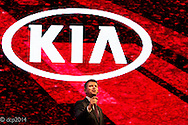 Kia Motors National Dealer Conference and car launch, Birmingham ICC, UK