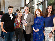 18/07/2018 repro free:  Sam Yates director with producers Jen Coppinger and Paul Fahy   at the world premiere of Incantata by Paul Muldoon starring Stanley Townsend and directed by Sam Yates. Incantata is a Galway International Arts Festival and Jen Coppinger production and is now on at the Town Hall Theatre, Galway until Friday July 27as part of GIAF18. Incantata is a deeply moving rollercoaster ride of a show starring one of Ireland's leading actors.  Photo:Andrew Downes, XPOSURE