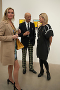 BETTINA BALHSEN; ALEX KATZ; LADY HELEN TAYLOR, Alex Katz opening. Timothy Taylor gallery. London. 3 March 2010.