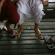 Myanmar (Burma) is ruled by a military junta considered one of the worst human rights violators in Asia. But tourism is blooming in the Southeast Asian nation, from the markets of Yangon to the temples of Bagan. Some critics, including Nobel Laureate Aung San Suu Kyi, have said tourists shouldn't come here, while others say tourism can actually help Burma open up to the rest of the world, and lead to democratic change. A look inside some of Myanmar's growing tourist spots.