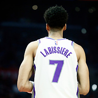 13 January 2018: Sacramento Kings forward Skal Labissiere (7) is seen during the LA Clippers 126-105 victory over the Sacramento Kings, at the Staples Center, Los Angeles, California, USA.