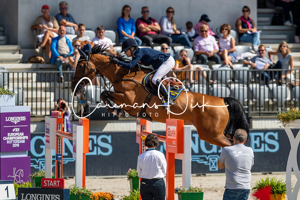 Baryard-Johnsson Malin, SWE, H&M Indiana<br /> European Championship Jumping<br /> Rotterdam 2019<br /> © Hippo Foto - Dirk Caremans