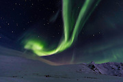 The northern lights come and go quite quickly. This is a particularly impressive show. (Photo by Travel Photographer Matt Considine)