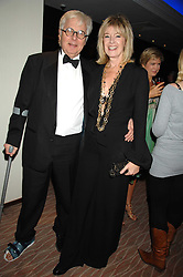 SIR JEREMY DIXON and tv presenter JULIA SOMERVILLE at the 2007 Costa Book Awards held at The Intercontinental Hotel, One Hamilton Place, London W1 on 22nd January 2008.<br /> <br /> NON EXCLUSIVE - WORLD RIGHTS (EMBARGOED FOR PUBLICATION IN UK MAGAZINES UNTIL 1 MONTH AFTER CREATE DATE AND TIME) www.donfeatures.com  +44 (0) 7092 235465