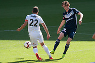 MELBOURNE, VIC - JANUARY 20: Wellington Phoenix defender Andrew Durante (22) competes for the ball during the Hyundai A-League Round 14 soccer match between Melbourne Victory and Wellington Phoenix at AAMI Park in VIC, Australia on 20th January 2019. Image by (Speed Media/Icon Sportswire)