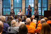 Kelda Roys speaks during the Final Four Democratic Gubernatorial candidate forum, presented by Wisconsin's Choice, at the Goodman Community Center in Madison, Wisconsin, Sunday, July 15, 2018.
