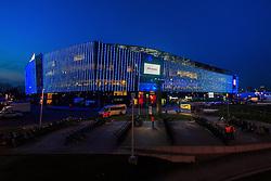 17.02.2016, Ghelamco Arena, Gent, BEL, UEFA CL, KAA Gent and VfL Wolfsburg, Achtelfinale, Hinspiel, im Bild Außenansicht der Ghelamco Arena // during the UEFA Champions League Round of 16, 1st Leg match between KAA Gent and VfL Wolfsburg at the Ghelamco Arena in Gent, Belgium on 2016/02/17. EXPA Pictures © 2016, PhotoCredit: EXPA/ Eibner-Pressefoto/ Schueler<br /> <br /> *****ATTENTION - OUT of GER*****
