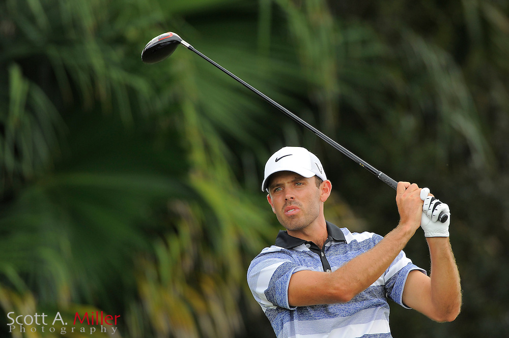 Charl Schwartzel during the first round of the World Golf Championship Cadillac Championship on the TPC Blue Monster Course at Doral Golf Resort And Spa on March 8, 2012 in Doral, Fla. ..©2012 Scott A. Miller.