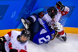 22-02-2018 KOR: Olympic Games day 13, PyeongChang<br /> Final Ice Hockey Canada - USA 2-3 / Hannah Brandt #20 of the United States,