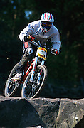 Rav4 NPS downhill, Pateley Bridge, Yorkshire 2000.