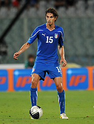 06.09.2011, Stadio Artemio Franchi, Florenz, ITA, UEFA EURO 2012, Qualifikation, Italien vs Slovenien, im Bild Andrea RANOCCHIA (Italia).. // during the UEFA Euro 2012 Qualifier Game, Italy vs Slovenia, at Stadio Artemio Franchi Florence Italy on 2011-09-06. EXPA Pictures © 2011, PhotoCredit: EXPA/ InsideFoto/ Alessandro Sabattini +++++ ATTENTION - FOR AUSTRIA/(AUT), SLOVENIA/(SLO), SERBIA/(SRB), CROATIA/(CRO), SWISS/(SUI) and SWEDEN/(SWE) CLIENT ONLY +++++