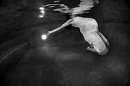 Andrea Northey underwater pregnant