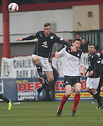 Iain Davidson and Conor McGrandles - Dundee  v Falkirk - SPFL Championship at Dens Park<br /> <br />  - &copy; David Young - www.davidyoungphoto.co.uk - email: davidyoungphoto@gmail.com