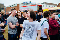 Humber Street, Kingston Upon Hull, East Yorkshire, United Kingdom, 02 August, 2014. Pictured: Humber Street SESH 2014