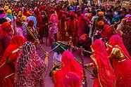 India-Uttar Pradesh-Holi-Lathmar Holi-Barsana
