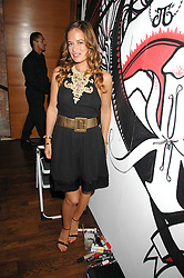 JADE JAGGER at a party hosted by Belvedere Vodka and Jade Jagger to launch The Belvedere Jagger Dagger cocktail held at Automat, Berkeley Street, London on 8th May 2008.<br /><br />NON EXCLUSIVE - WORLD RIGHTS ******(EMBARGOED FOR PUBLICATION IN UK MAGAZINES UNTIL 2 MONTHS AFTER CREATE DATE AND TIME)****** www.donfeatures.com  +44 (0) 7092 235465