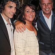 NLD/Amsterdam/20120503 - Lancering Rafael Magazine, moeder Lolita, vader Ramon van der vaart en broer Fernando