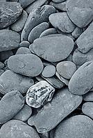 Beach rocks at Fort Abercrombie State Historical Park; Kodiak Island; Alaska