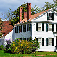 Franklin Pierce Manse in Concord, New Hampshire<br /> When Franklin Pierce went to college in 1820, his classmates in a literary society included Nathaniel Hawthorne and Henry Wadsworth Longfellow. His father&rsquo;s role as governor drew Pierce into politics. He was a U.S. House member, a U.S. senator and the 14th president from 1853-1857. He lived here in 1842-1848. This house in Concord, New Hampshire is now called the Franklin Pierce Manse. His boyhood home, built in 1804 by his father, is located in Hillsborough.