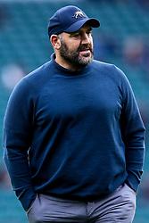 Argentina Head Coach Mario Ledesma - Mandatory by-line: Robbie Stephenson/JMP - 01/12/2018 - RUGBY - Twickenham Stadium - London, England - Barbarians v Argentina - Killick Cup