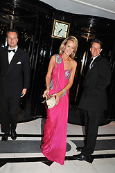 LADY VICTORIA HERVEY at Fashion For The Brave held at The Dorchester Hotel, Park Lane, London on 20th September 2012.