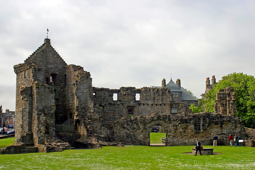 Europe, Great Britain, United Kingdom, Scotland, St. Andrews. St. Andrews Castle.