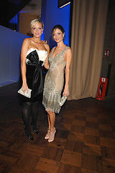 Left to right, designers KEREN CRAIG and GEORGINA CHAPMAN at the British Fashion Awards 2007 held at the Royal Horticultural Halls, Vincent Square, London on 28th November 2007.<br />