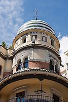 detail of old building in sevilla, spain