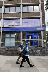 © Licensed to London News Pictures. 25/06/2012 . Sidcup Police station in Sidcup, Greater London, one of nine police stations that might be sold off by the Metropolitan Police in an effort to save money as part of government cost cutting. Photo credit : Grant Falvey/LNP