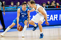 Hordur Vilhjalmsson of Iceland vs Petteri Koponen of Finland during basketball match between National Teams of Finland and Iceland at Day 7 of the FIBA EuroBasket 2017 at Hartwall Arena in Helsinki, Finland on September 6, 2017. Photo by Vid Ponikvar / Sportida