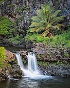 O'heo Gulch on the island of Maui
