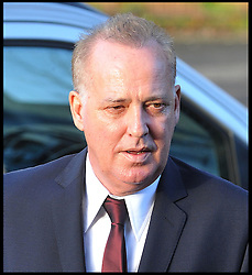 Michael Barrymore arrives at Ealing Magistrates Court, The entertainer has been charged with possession of cocaine Ealing Magistrates' Court,London, Wednesday December 7, 2011. Photo By Andrew Parsons/ i-Images