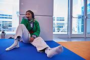 Ashgabat, Turkmenistan - 2017 September 21:<br /> while Kurash competition during 2017 Ashgabat 5th Asian Indoor &amp; Martial Arts Games at Martial Arts Arena (MAA) at Ashgabat Olympic Complex on September 21, 2017 in Ashgabat, Turkmenistan.<br /> <br /> Photo by &copy; Adam Nurkiewicz / Laurel Photo Services