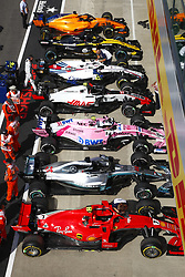 July 8, 2018 - Silverstone, Great Britain - Motorsports: FIA Formula One World Championship 2018, Grand Prix of Great Britain, .Parc ferme  (Credit Image: © Hoch Zwei via ZUMA Wire)