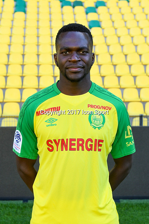 Anthony Walongwa during photoshooting of Fc Nantes for new season 2017/2018 on September 18, 2017 in Nantes, France. (Photo by Philippe Le Brech/Icon Sport)