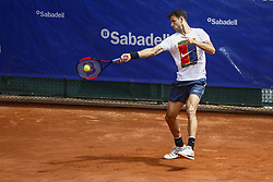 April 23, 2018 - Barcelona, Spain - BARCELONA, SPAIN - APRIL 23: Grigor Dimirov from Bulgaria training during the Barcelona Open Banc Sabadell 66º Trofeo Conde de Godo at Reial Club Tenis Barcelona on 23 of April of 2018 in Barcelona. (Credit Image: © Xavier Bonilla/NurPhoto via ZUMA Press)