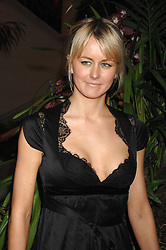 EMMA PARKER-BOWLES  at The Diner Des Tsars in aid of Unicef to celebrate the launch of Quintessentially Wine held at the Guildhall, London EC2 on 29th March 2007.<br />