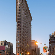 Flatiron Building in Manhattan